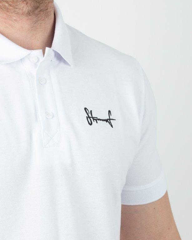 Koszulka Stoprocent Polo Tag19 White
