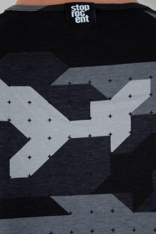 Koszulka Stoprocent Tank Top Camo18 Black