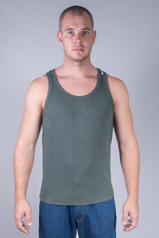 Koszulka Stoprocent Tank Top Ribb Classic16 Khaki