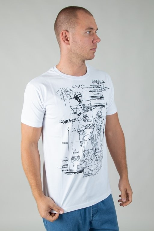 Koszulka Stoprocent Venus White