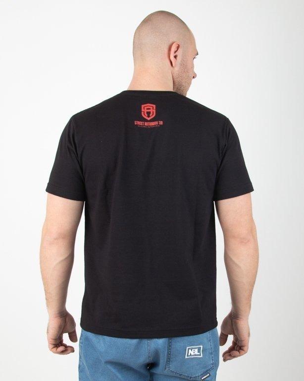 Koszulka Street Autonomy Neon Black-Red