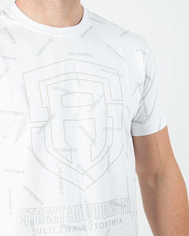 Koszulka Street Autonomy Write Logo White