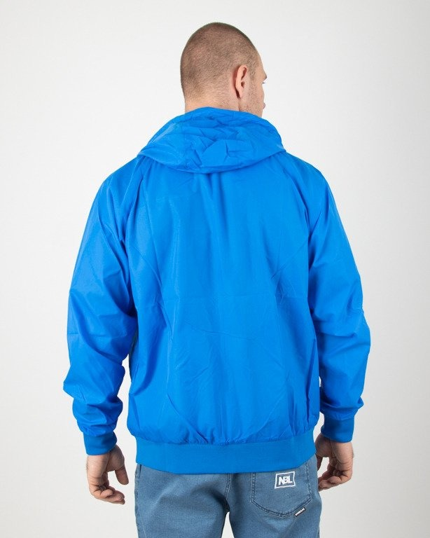 Kurtka Mass Wiatrówka Zip Base Blue