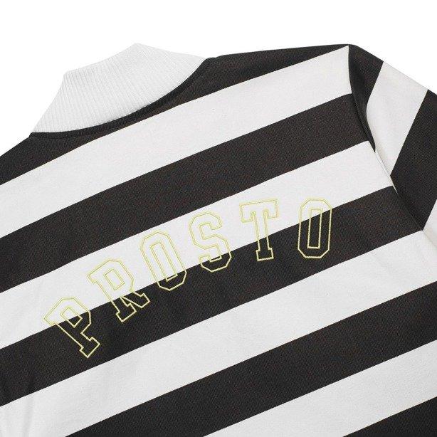 Kurtka Prosto Woman Zip Bomber Zebra White