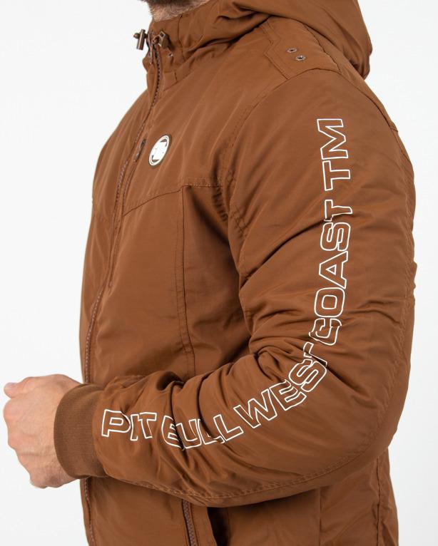 Kurtka Zimowa Pitbull Cabrillo 2019 Brown