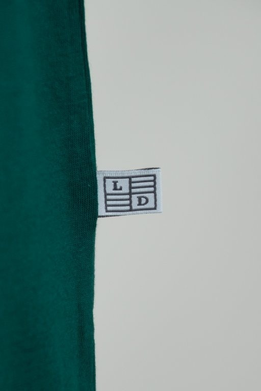 LUCKY DICE T-SHIRT TAPE GREEN-RED