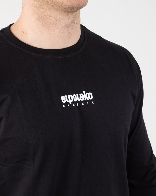 Longsleeve El Polako Mini Logo Black
