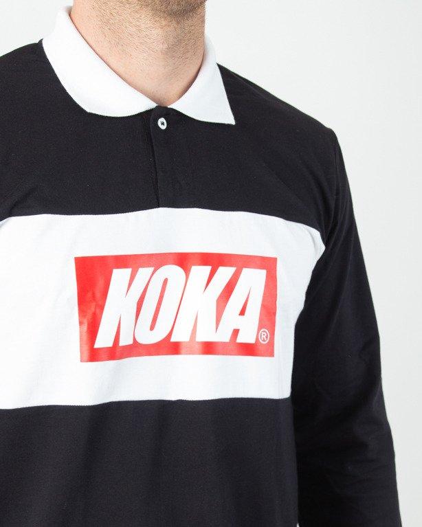 Longsleeve Koka Rugby Black