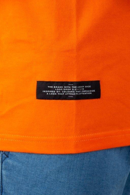 Longsleeve Lucky Dice Vhs Orange