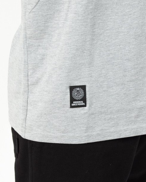 Longsleeve Mass Base Small Logo Grey