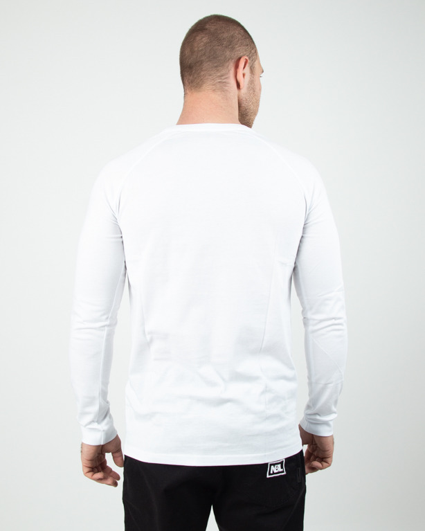 Longsleeve Stoprocent Base Tag White