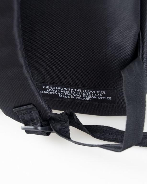 Lucky Dice Plecak Logo Black-Brick