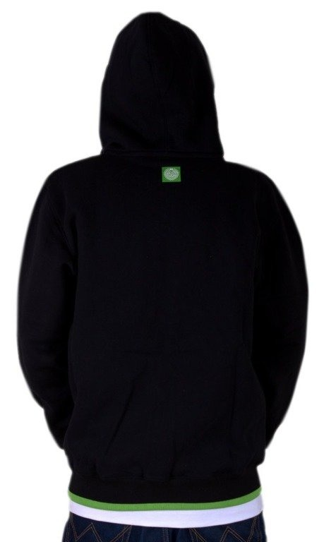 MASS BLUZA Z KAPTUREM ZIP ICON BLACK