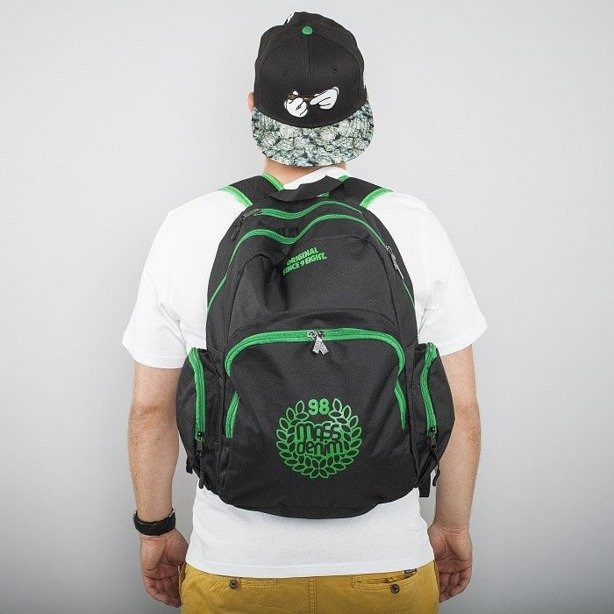 MASS PLECAK BASE 013 BLACK-GREEN