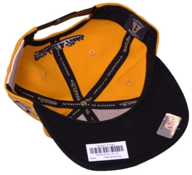 MITCHELL & NESS CZAPKA NHL SNAPBACK PITTSBURGH PENGUINS