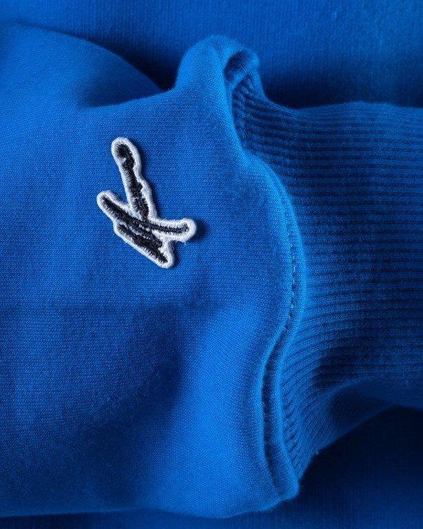 MORO BLUZA BEZ KAPTURA ACADEMIC BLUE