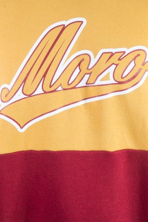 MORO SPORT CREWNECK DOUBLE BASEBALL CAMEL