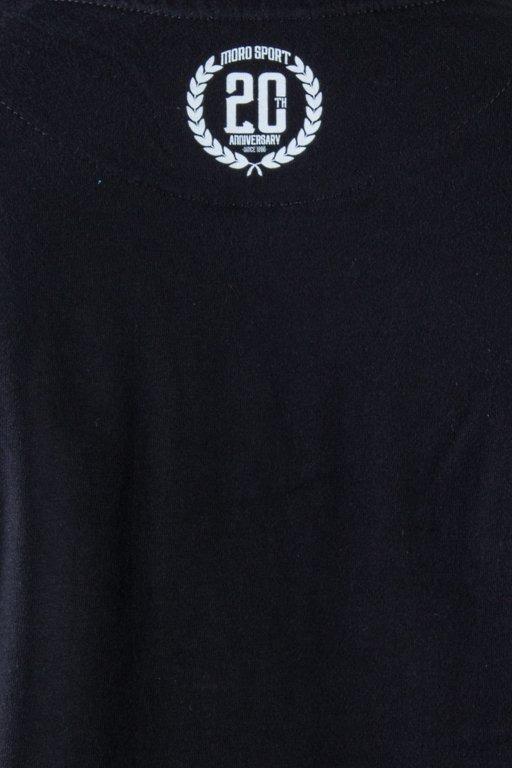 MORO SPORT T-SHIRT LAUR ANNIVERSARY BLACK