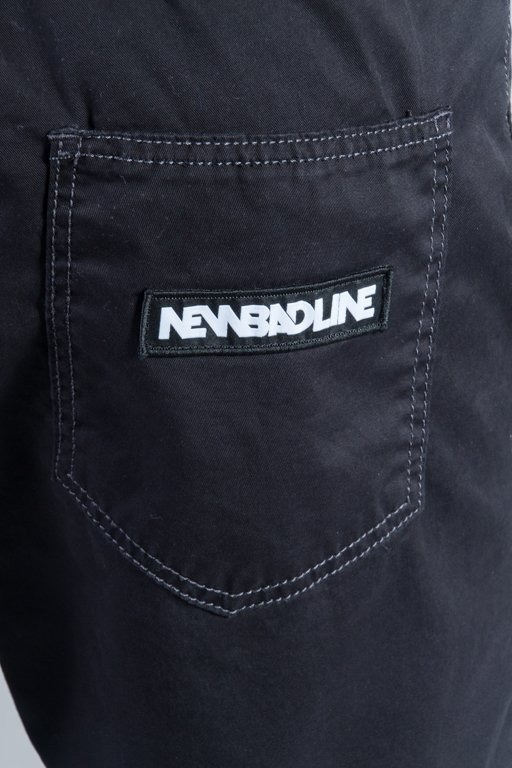 NEW BAD LINE PANTS CHINO JOGGER PREMIUM BLACK