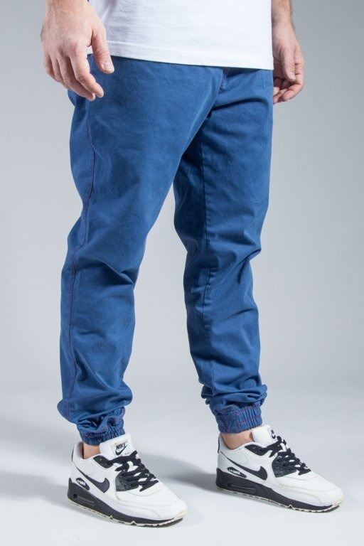 NEW BAD LINE PANTS CHINO JOGGER PREMIUM BLUE