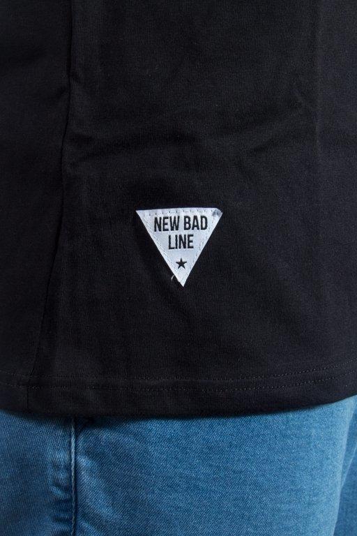 NEW BAD LINE T-SHIRT CRIME BLACK