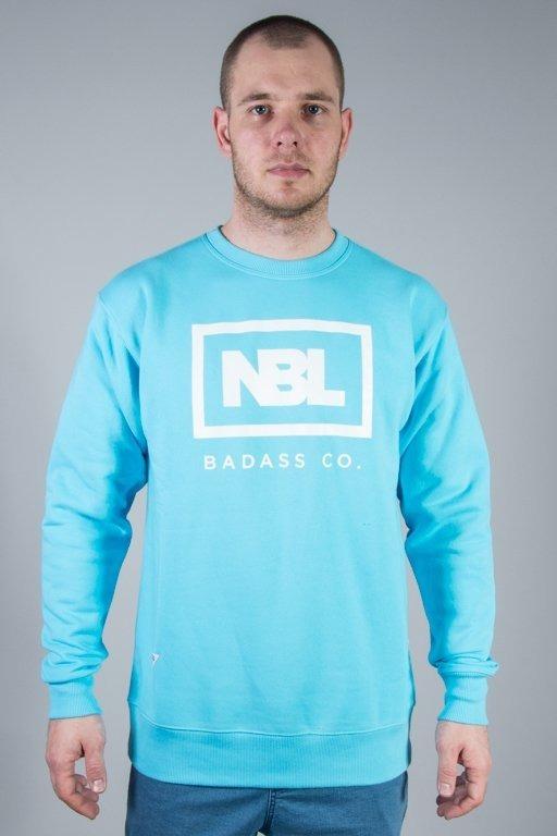 New Bad Line Bluza Bez Kaptura New Icon Light Blue