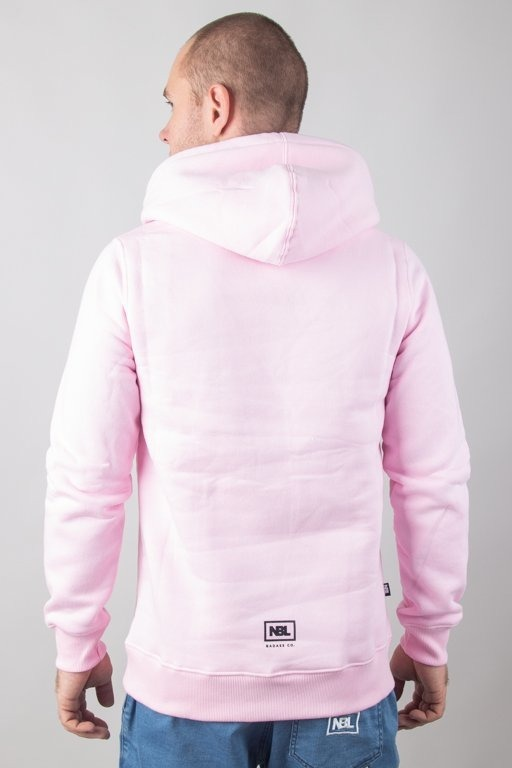 New Bad Line Bluza Z Kapturem Classic Pink