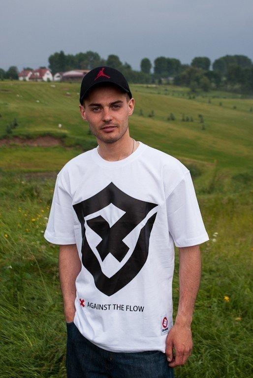 OPONENT KOSZULKA SHIELD WHITE