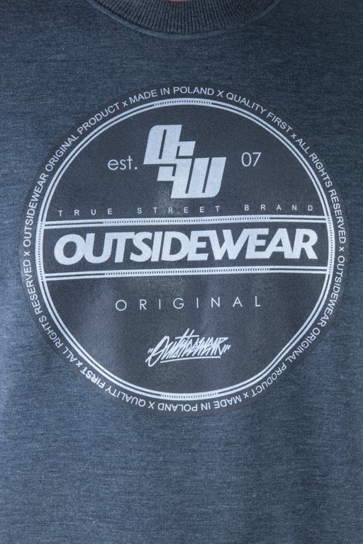 OUTSIDEWEAR CREWNECK STICKER GREY
