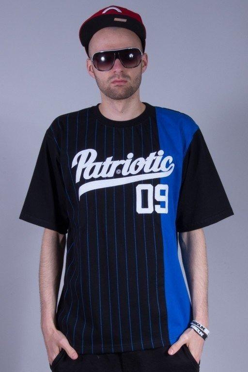 PATRIOTIC KOSZULKA ATHLETIC BLACK-BLUE