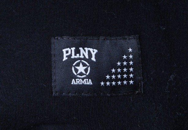 PLNY BLUZA Z KAPTUREM ARMIA BLACK
