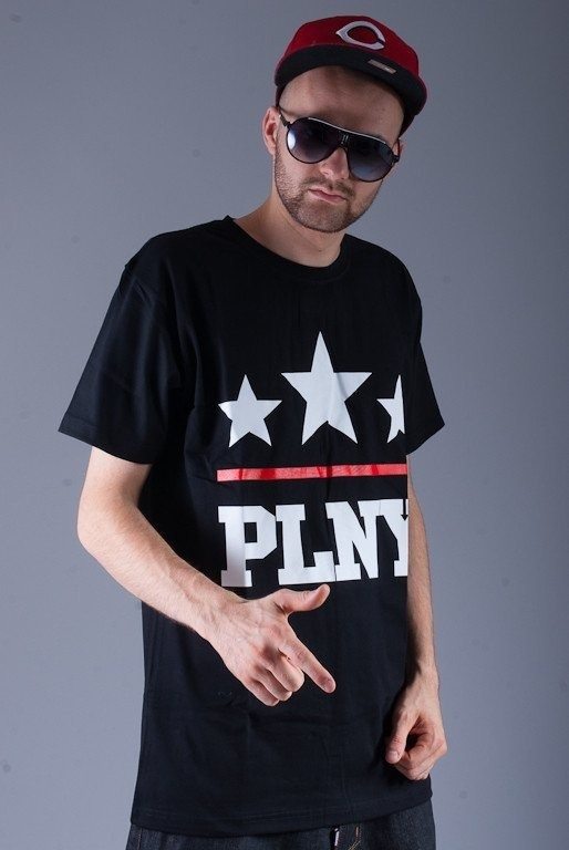 PLNY KOSZULKA 3 STARS BLACK