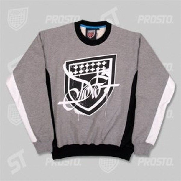 PROSTO BLUZA ELEGANCKO TAG SHIELD GREY