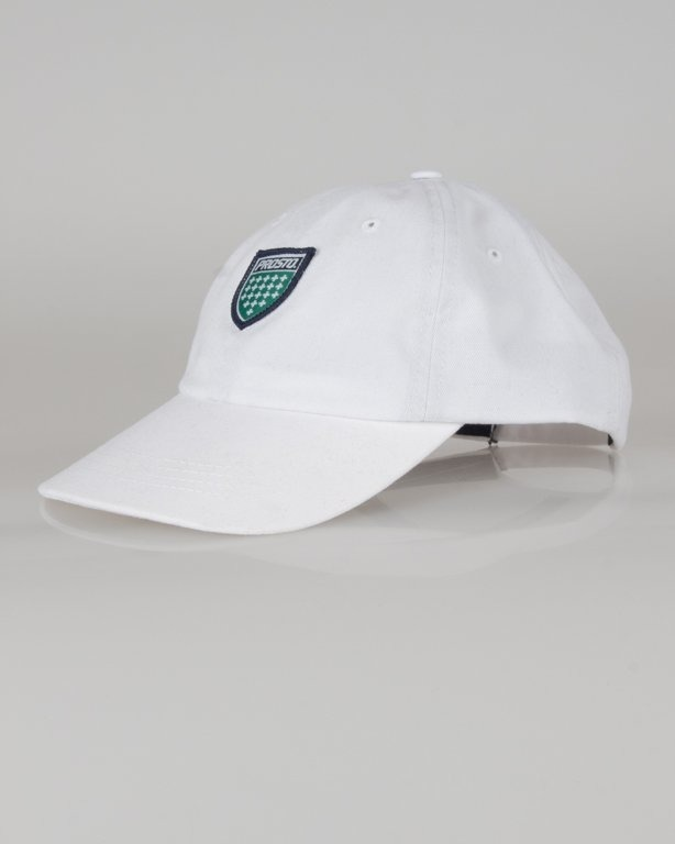 PROSTO CAP 6PANEL MEANS WHITE