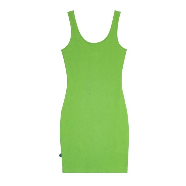 PROSTO DRESS MIDI STRIA QUEEN GREEN