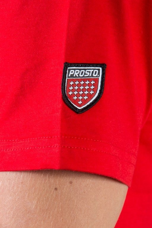 PROSTO T-SHIRT LOOK RED