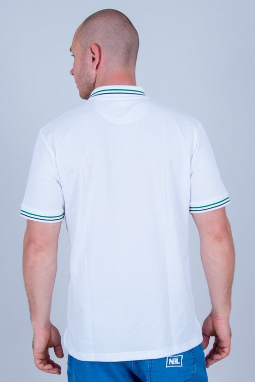 PROSTO T-SHIRT POLO KOLO WHITE