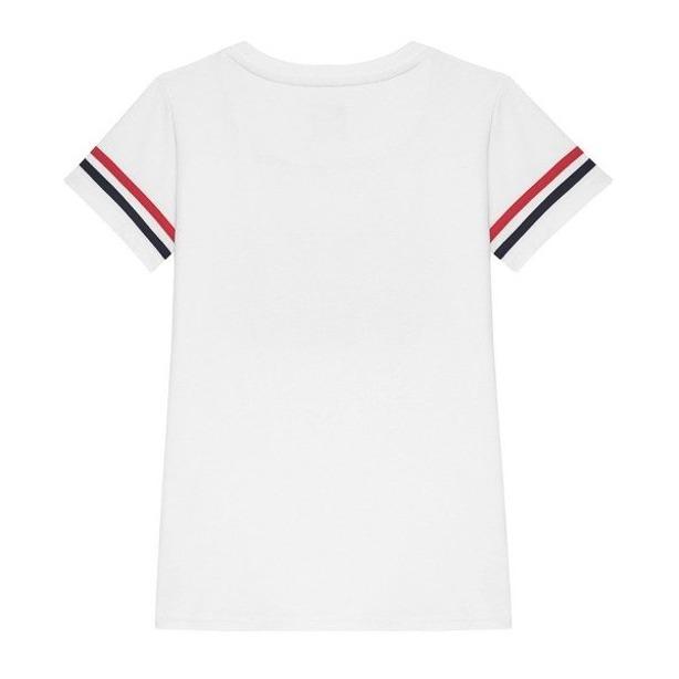 PROSTO T-SHIRT WOMAN STARS WHITE