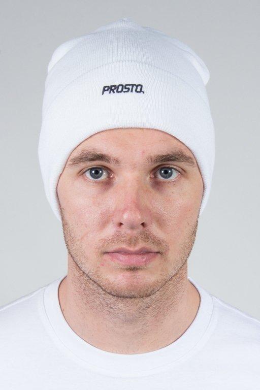 PROSTO WINTER CAP BASIC WHITE