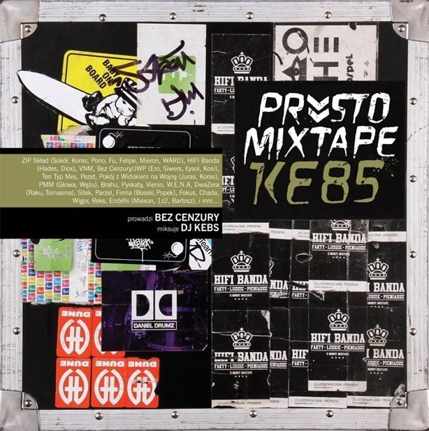 Płyta Cd Prosto Mixtape Dj Kebs