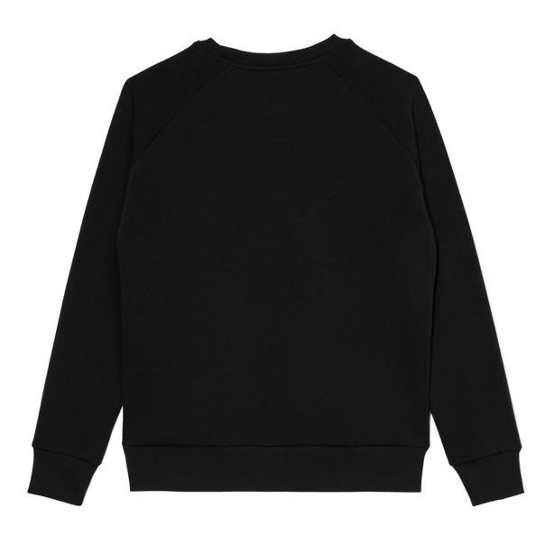 Prosto Bluza Bez Kaptura Woman Scarlet Black