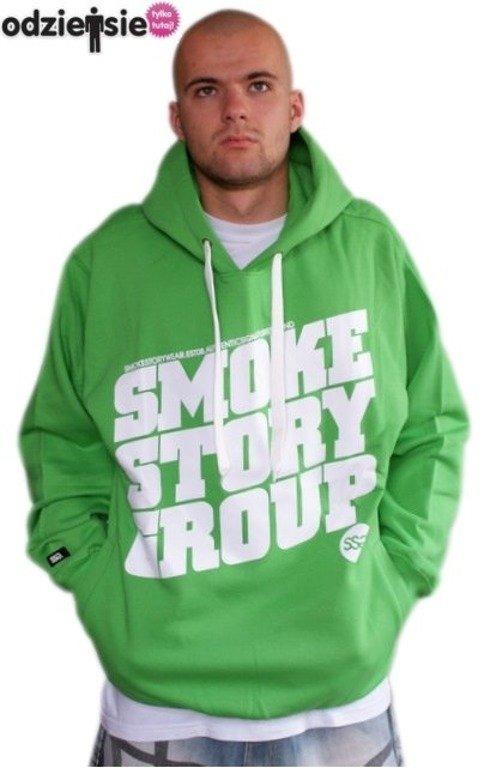 SMOKE STORY BLUZA SM GROUP GREEN