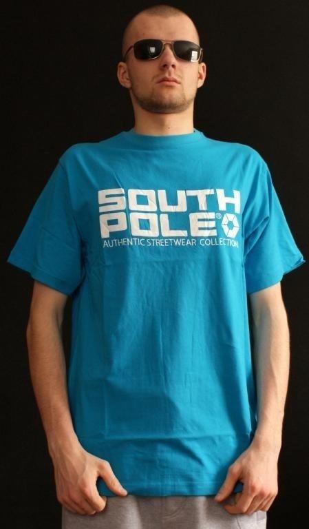 SOUTHPOLE KOSZULKA SOUTH POLE BLUE