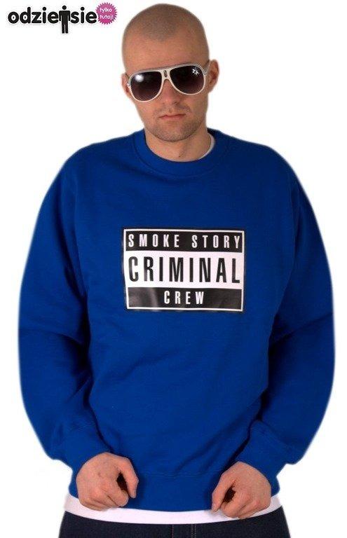 SSG BLUZA BEZ KAPTURA CRIMINAL BLUE