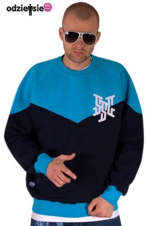 SSG BLUZA BEZ KAPTURA NEW PREMIER BLUE