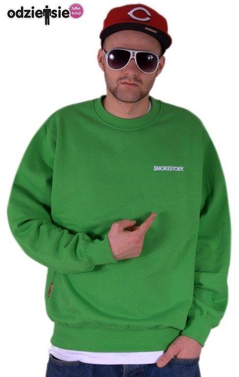 SSG BLUZA BEZ KAPTURA SMALL GREEN