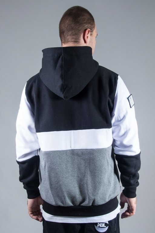 SSG HOODIE ZIP DOUBLE BLACK-WHITE