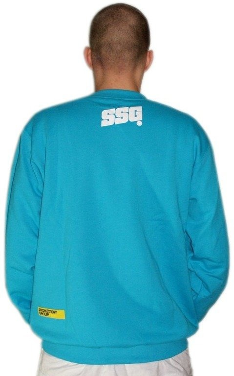 SSG SMOKE STORY BLUZA SM GROUP BLUE-WHITE