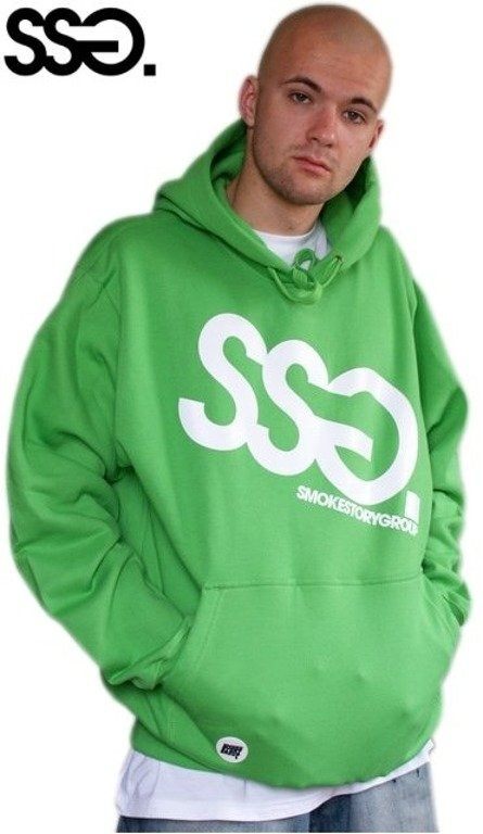 SSG SMOKE STORY GROUP BLUZA BIG GREEN