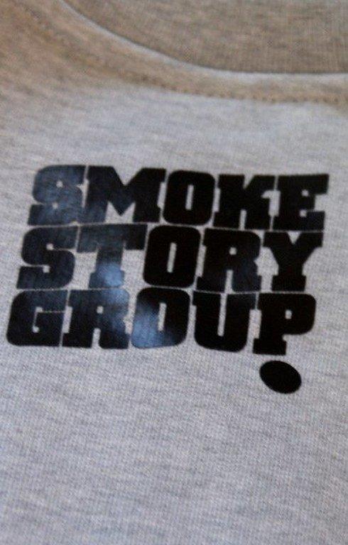 SSG SMOKE STORY GROUP BLUZA BIG GREY